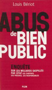 Abus de bien public