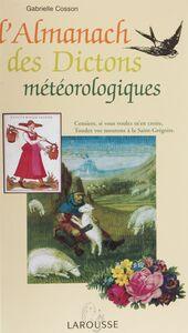 Almanach des dictons météorologiques