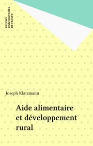 Aide alimentaire et développement rural