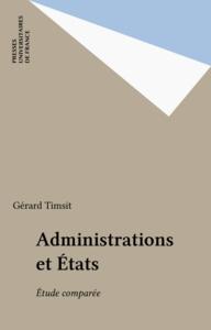 Administrations et États Étude comparée