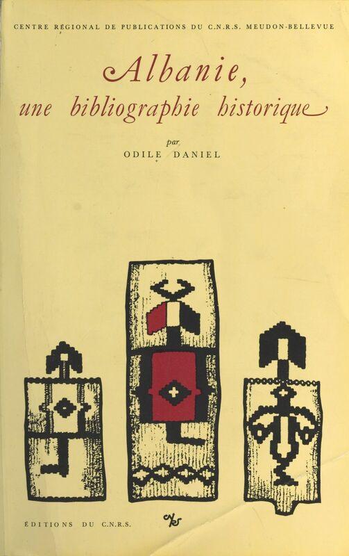 Albanie, une bibliographie historique