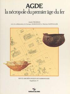 Agde, la nécropole du premier âge du fer