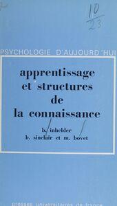 Apprentissage et structures de la connaissance