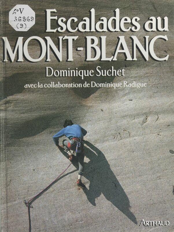 Escalades au Mont-Blanc