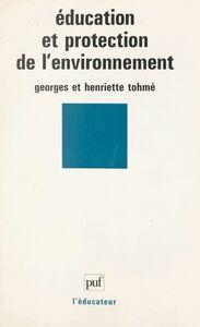 Éducation et protection de l'environnement