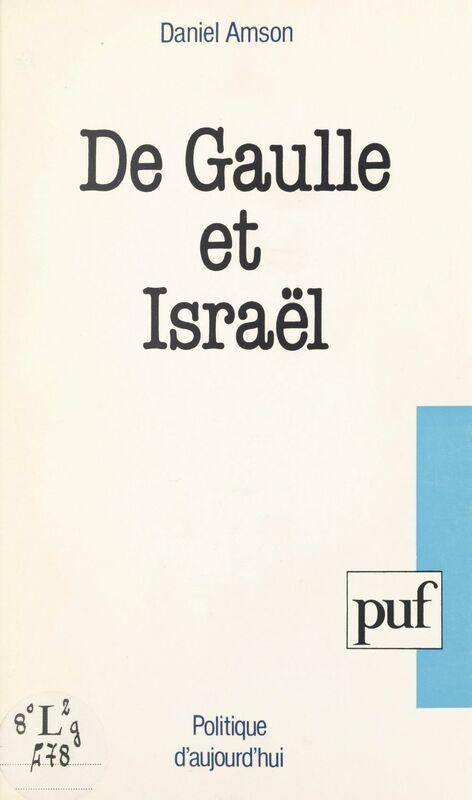 De Gaulle et Israël