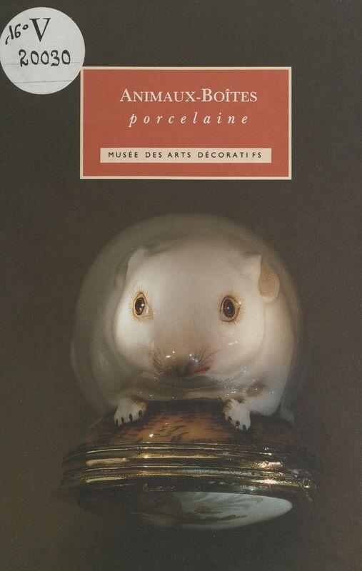 Animaux-boîtes Porcelaine du XVIIIe siècle