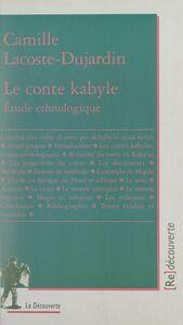 Le conte kabyle Étude ethnologique