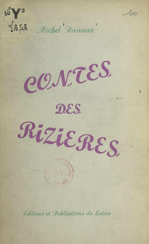 Contes des rizières