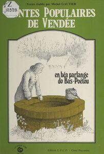 Contes populaires de Vendée