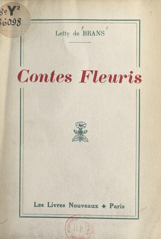 Contes fleuris