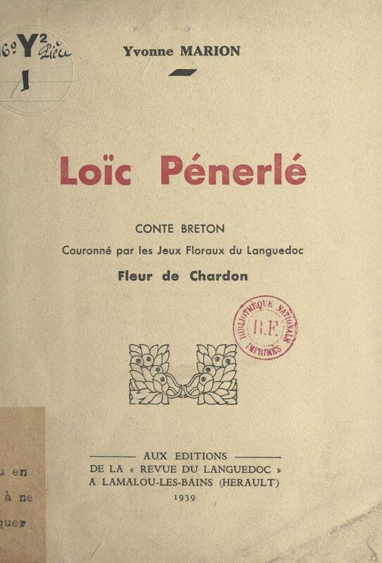 Loïc Pénerlé, conte breton