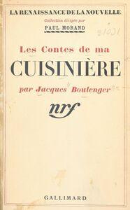 Les contes de ma cuisinière