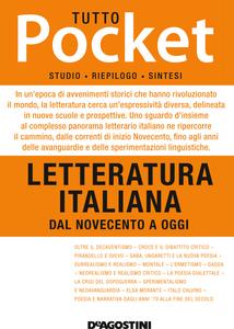TUTTO POCKET Letteratura italiana - Dal Novecento a Oggi