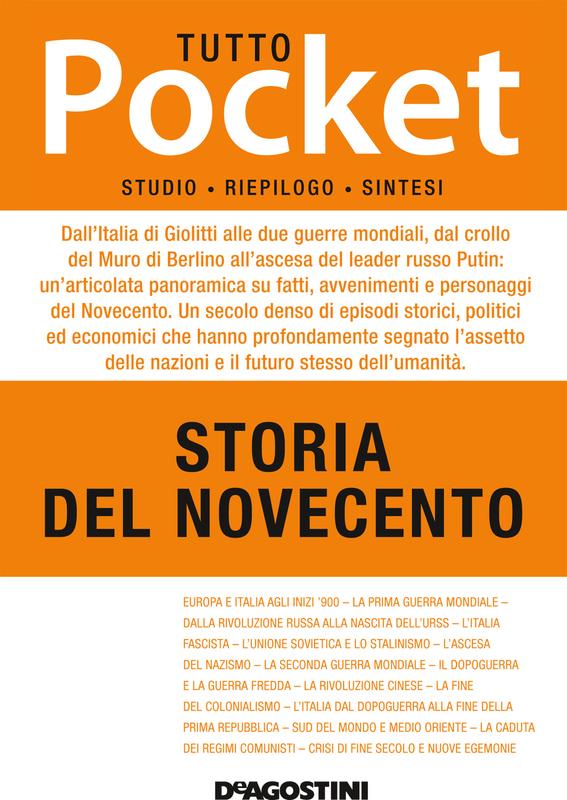 TUTTO POCKET Storia del Novecento
