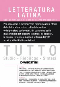 TUTTO- Letteratura latina Schemi riassuntivi e quadri di approfondimento