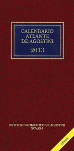 CALENDARIO ATLANTE DE AGOSTINI 2013