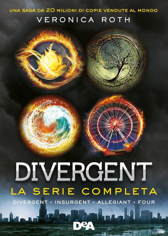 Divergent. La serie completa (Divergent - Insurgent - Allegiant - Four)