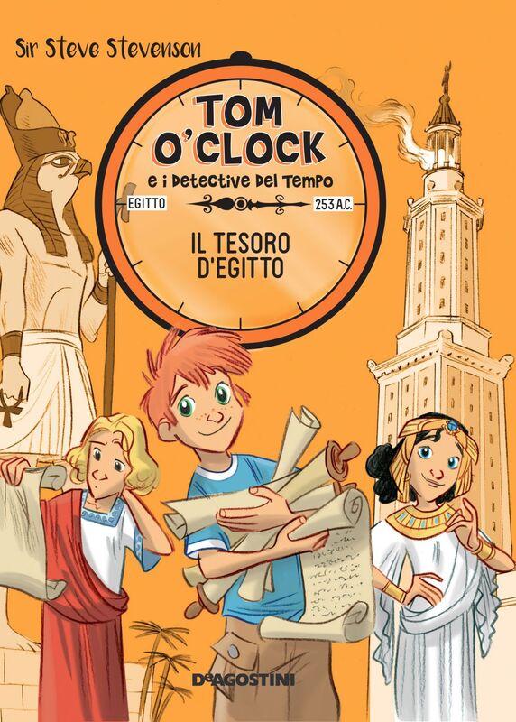 Il tesoro d'Egitto. Tom O'Clock. vol. 5