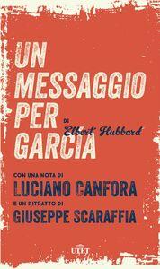 Un messaggio per García