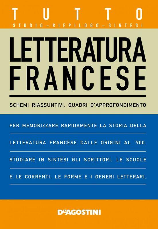 TUTTO Letteratura Francese