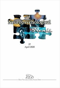 Neuropsychogical Trends 27 - April 2020