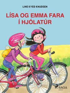 Lísa og Emma fara í hjólatúr