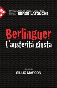 Berlinguer L'austerità giusta