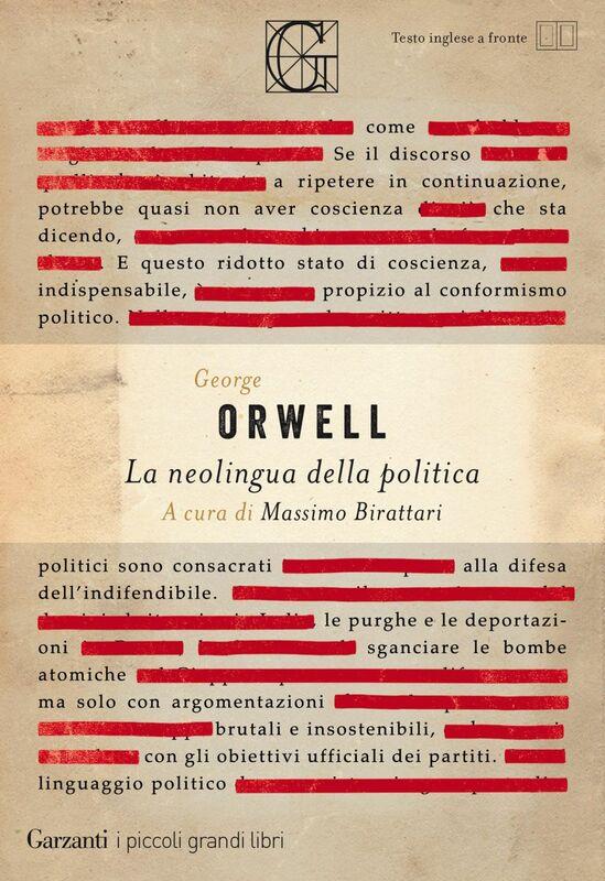 La neolingua della politica