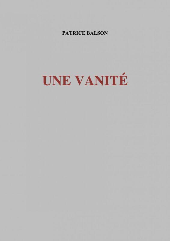 Une vanité