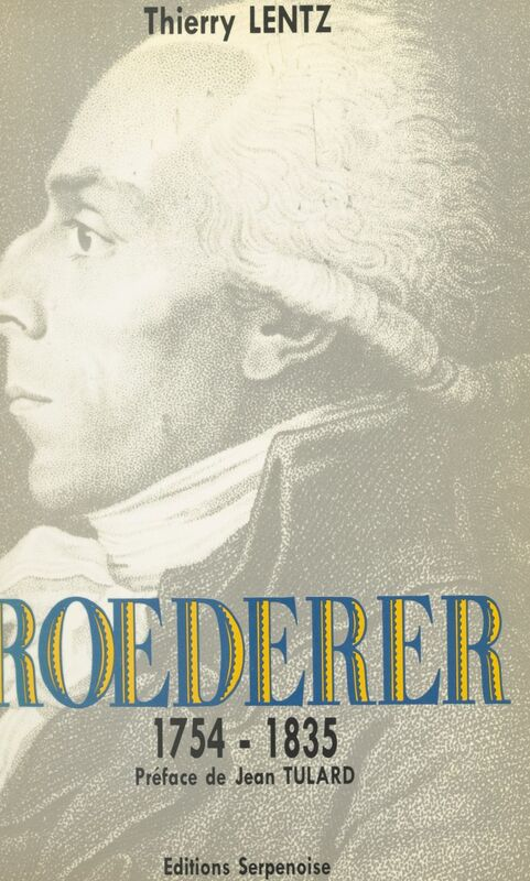 Roederer, 1754-1835