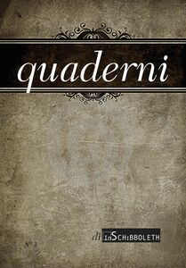 Quaderni 3, 2014