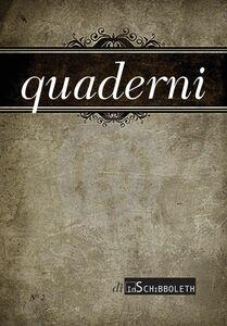 Quaderni 2, 2013