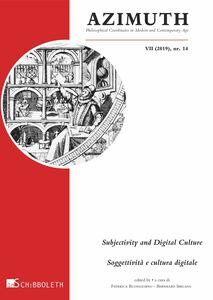Subjectivity and Digital Culture Soggettività e cultura digitale