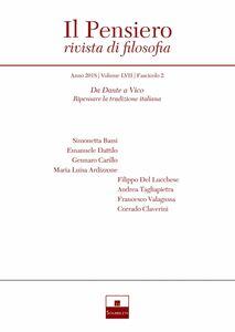 Da Dante a Vico. Ripensare la tradizione italiana (2018-2)