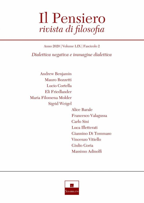 Dialettica negativa e immagine dialettica (2020-2)