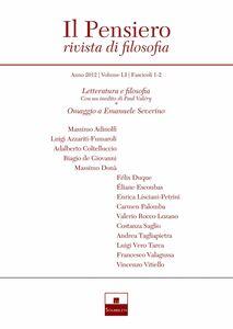 Letteratura e filosofia/Omaggio a Emanuele Severino (2012/1-2)