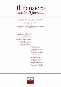 Sconfinamenti/Luoghi e immagini del Moderno (2004/1-2)