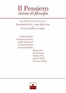 Giambattista Vico: i segni della storia/Verità, nichilismo, teologia (2002/1-2)
