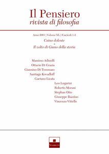 Caino dolente/Il volto di Giano della storia (2001/1-2)