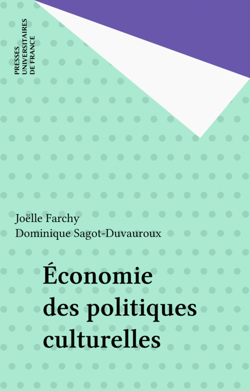 Économie des politiques culturelles