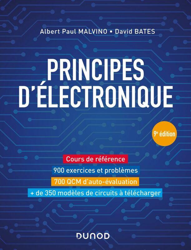 Principes d'électronique - 9e éd. Cours et exercices corrigés