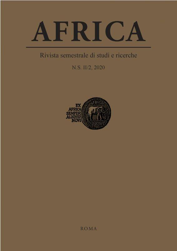 Africa. N.S. II/2, 2020