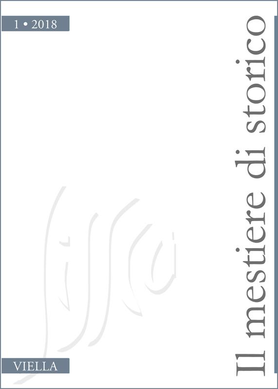 Il mestiere di storico (2018) vol. 1
