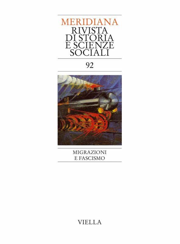 Meridiana 92: Migrazioni e fascismo