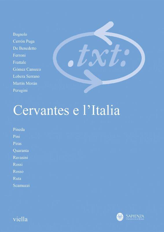 Critica del testo (2017) Vol. 20/3 Cervantes e l'Italia