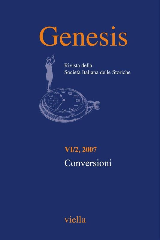 Genesis. Rivista della Società italiana delle storiche (2007) Vol. 6/2 Conversioni