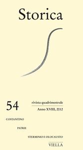Storica (2012) Vol. 54