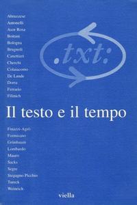Critica del testo (1998) Vol. 1/1 Il testo e il tempo