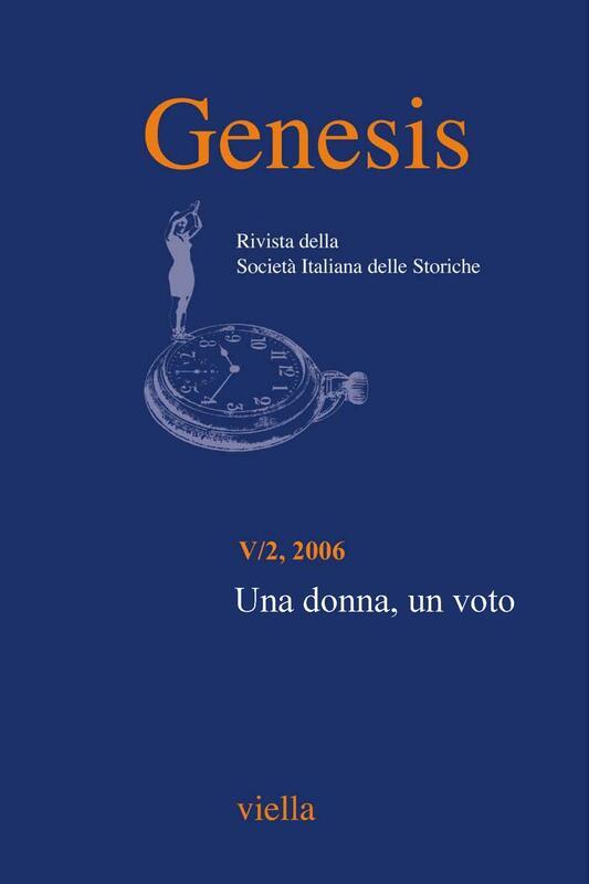 Genesis. Rivista della Società italiana delle storiche (2006) Vol. 5/2 Una donna, un voto